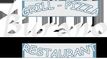Burano grill Pizza Restaurant, Lefkada Logo